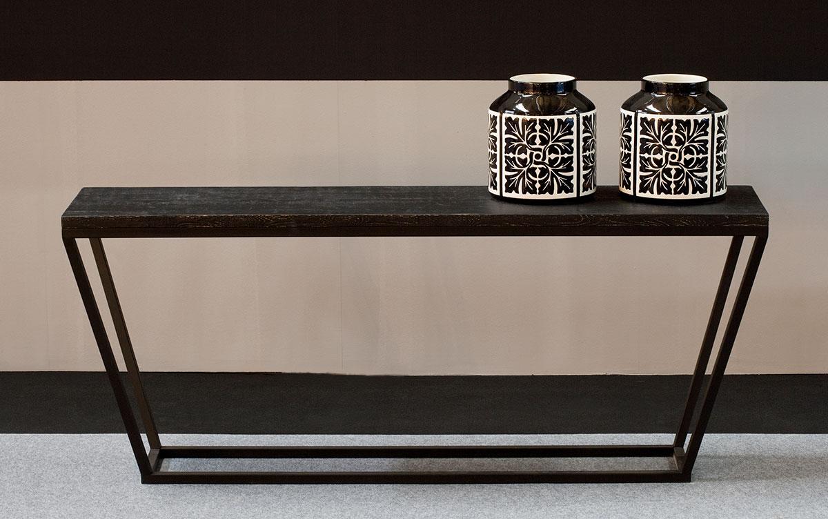 Consola Gaucín R, negro rozado