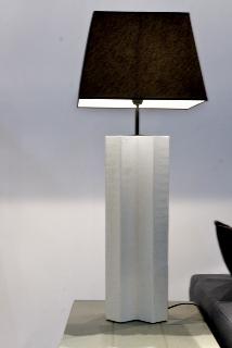 Lámpara Aspa blanca