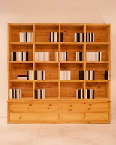 Librería Moskú 4C, pino